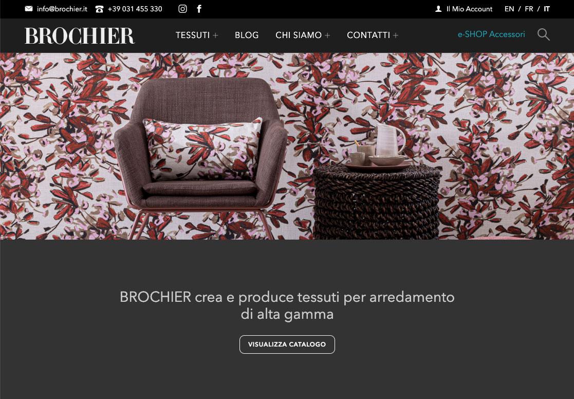 Sito web BROCHIER