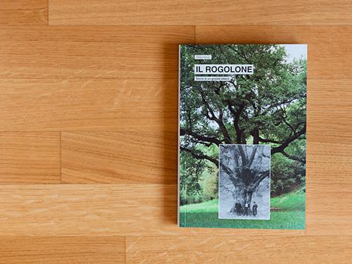 Progetto grafico libro ROGOLONE. Storia di un grande albero