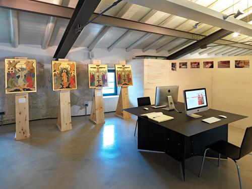 Progetto grafico Mostra Icone sul Lago di Como - Catalogo, inviti