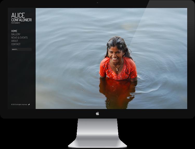 realizzazione siti web portfolio per fotografi como e lago di como