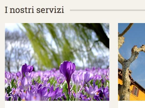 Siti web per giardinieri e imprese di manutenzione giardini