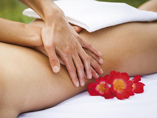 Progetto grafico servizio massaggi relax sul Lago di Como