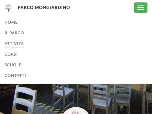 Grafica e Sviluppo Sito Web per Parco Mongiardino