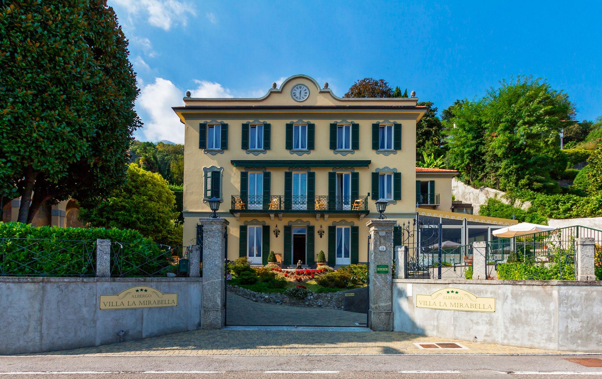 Sito web hotel villa la mirabella lago di como for Hotel villa del lago