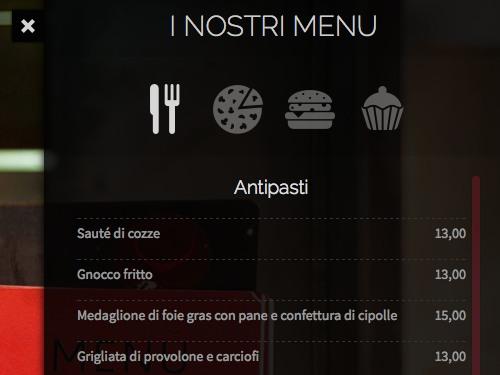 realizzazione sito internet ristorante pizzeria monza